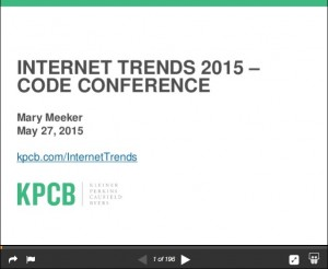 Internet Trends 2015 Mary Meeker KPCB
